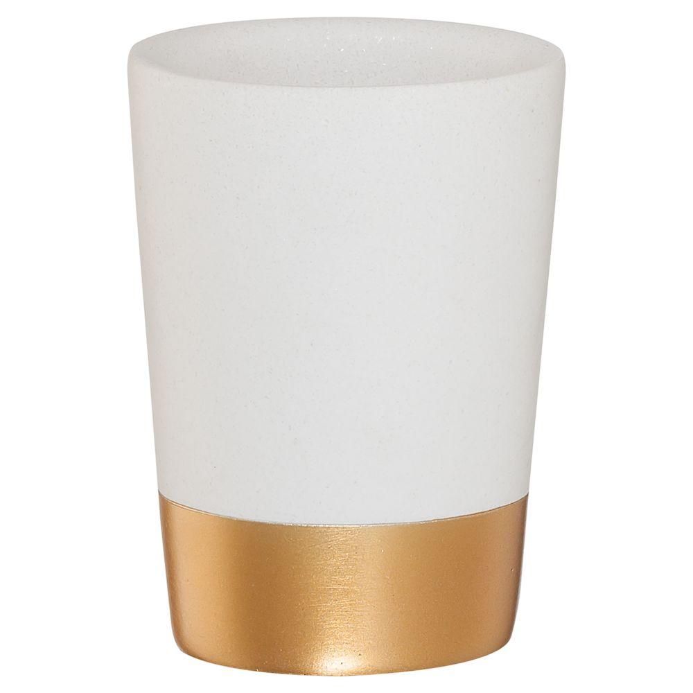 """Ποτηροθήκη """"Glossy"""" Polyresin Gold 7,5×10εκ. Sealskin 362320449 (Υλικό: Polyresin) – sealskin – 362320449"""