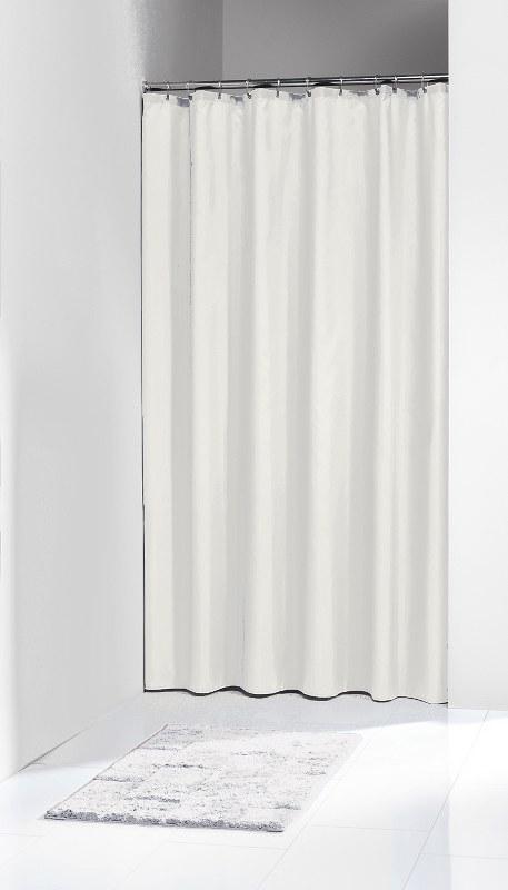 """Κουρτίνα Μπάνιου Πλαστική """"Granada White"""" Sealskin 120×200εκ. – sealskin – 217001110"""
