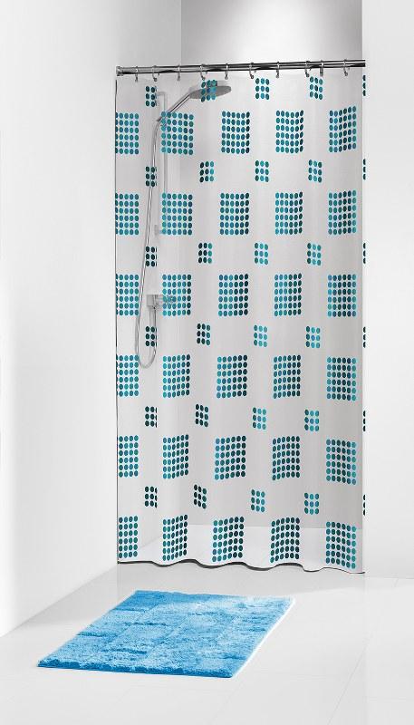"""Κουρτίνα Μπάνιου Πλαστική """"Happy Blue"""" Sealskin 180×200εκ. – sealskin – 210721324"""