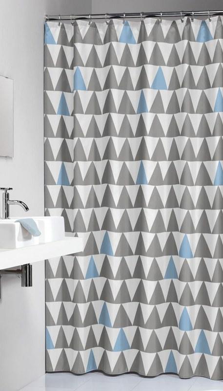 """Κουρτίνα Μπάνιου Πλαστική """"Nordic Light Blue """" Sealskin 180×200εκ. – sealskin – 210921320"""
