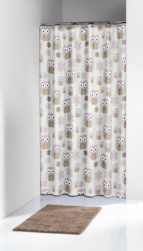 Κουρτίνα Μπάνιου Πλαστική «Owl Sand» Sealskin 180×200εκ. – sealskin – 210871365