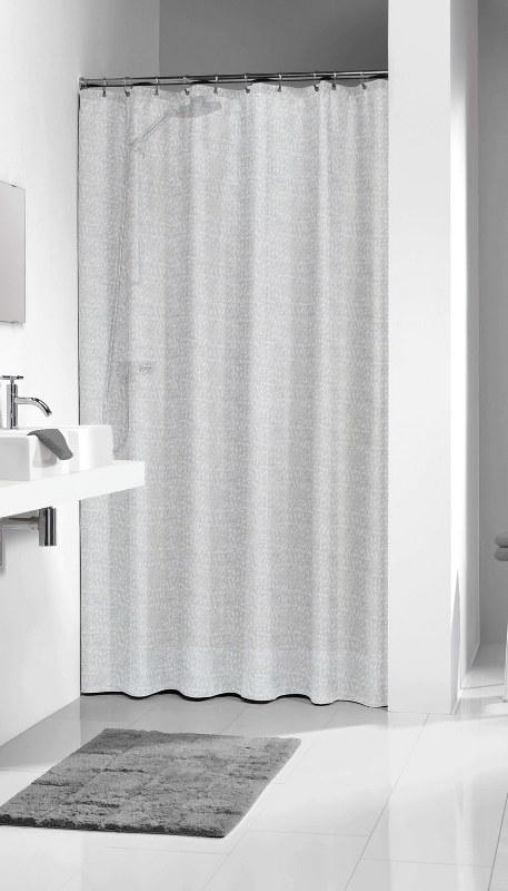 """Κουρτίνα Μπάνιου Πλαστική """"Perle Transparent """" Sealskin 180×200εκ. – sealskin – 210881300"""
