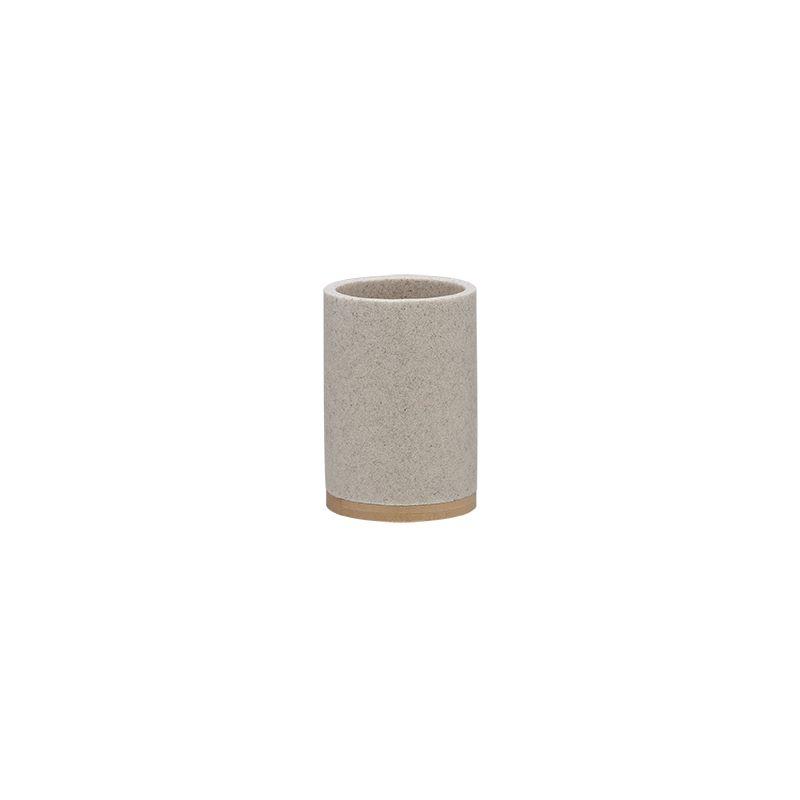 """Ποτηροθήκη """"Grace"""" Polyresin Bamboo Sand Sealskin 361910465 (Υλικό: Polyresin) – sealskin – 361910465"""