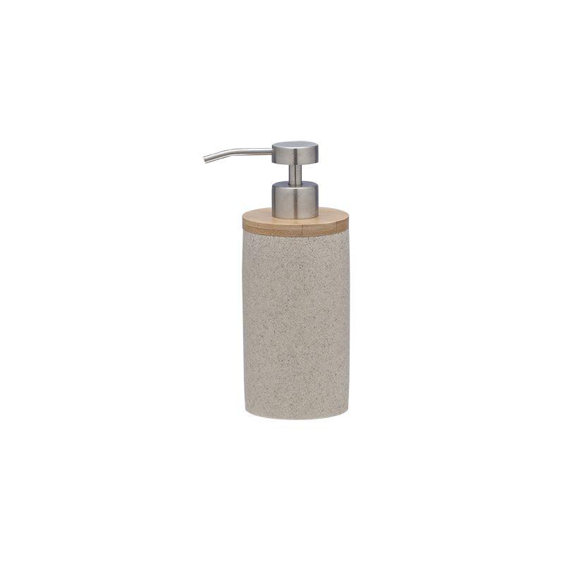 """Ντισπένσερ """"Grace"""" Polyresin Bamboo Sand Sealskin 361910265 - sealskin - 3619102 μπανιο αξεσουάρ μπάνιου"""
