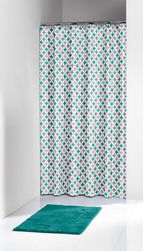 Κουρτίνα Υφασμάτινη «Diamonds Aqua» 180×200εκ. Sealskin – sealskin – 235201330