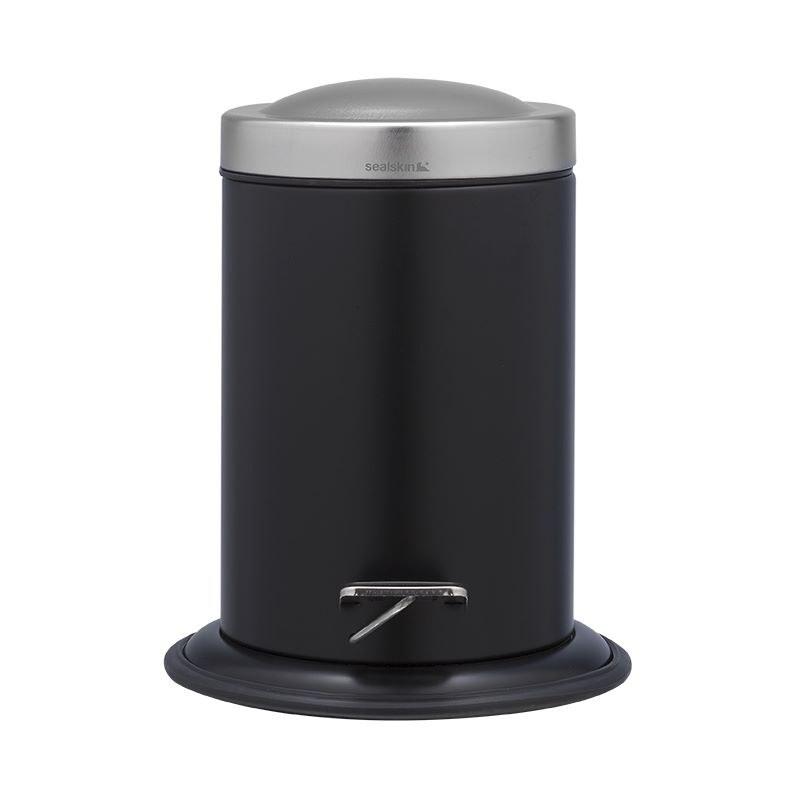 Καλάθι Απορριμάτων 3Lt «Acero Black» Sealskin – sealskin – 361732419