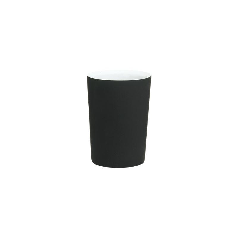 """Ποτηροθήκη """"Two Tone"""" Polyresin Black Sealskin 361790419 - sealskin - 361790419 μπανιο αξεσουάρ μπάνιου"""