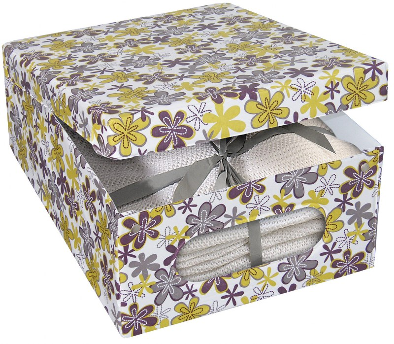 Κουτί Φύλαξης «Anemone» 50x40x25εκ. 322101 – ORDINETT – 322101