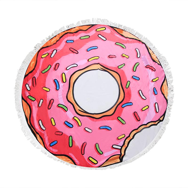 Πετσέτα Θαλάσσης Στρογγυλή «Donut» – OEM – 274-2