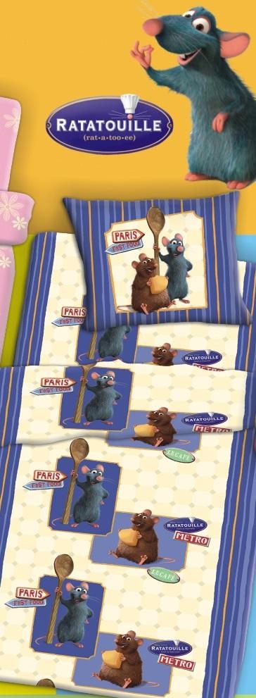 Σετ 3 Τεμαχίων Σεντόνια Παιδικά Ratatouille – ZBRITTA – 9-Κ.6