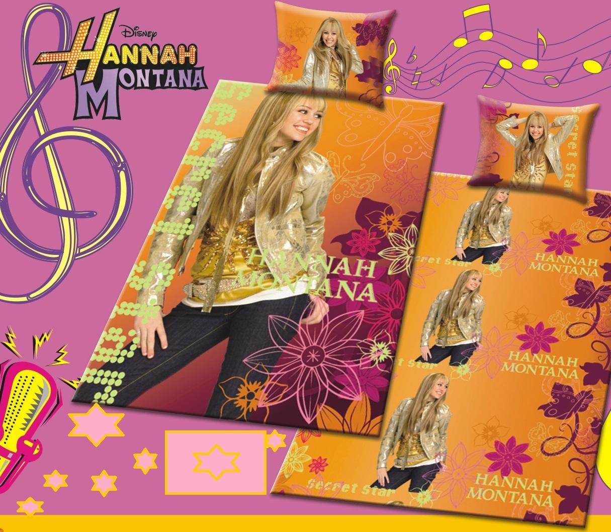 Κουβέρτα Πικέ Παιδική Με Μαξιλαροθήκη Hannah Montana - OEM - 9-Κ.18_πικέ λευκα ειδη παιδί κουβέρτες παιδικές