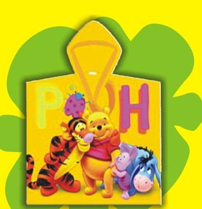 Μπουρνούζι Μπεμπέ Whinny The Pooh - OEM - 9-Κ.πν4 λευκα ειδη παιδί μπουρνούζια