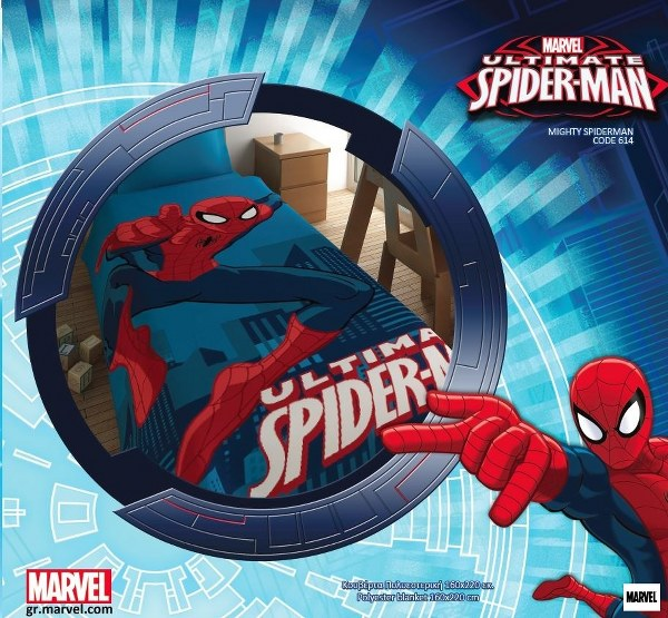 Κουβέρτα Παιδική Disney SpiderMan – Disney – kouverta_spiderman