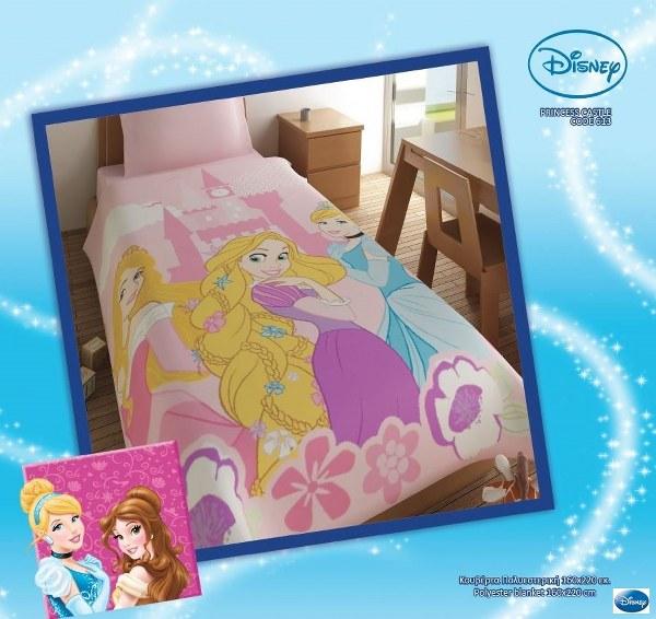 Κουβέρτα Παιδική Disney Princess - Disney - kouverta_princess λευκα ειδη παιδί κουβέρτες παιδικές