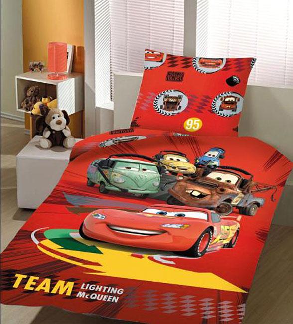 Σετ Κουβερλί Παιδικό Disney Cars Team Αυθεντικό - Disney - panel_carsteam_k λευκα ειδη παιδί κουβερλί παιδικά