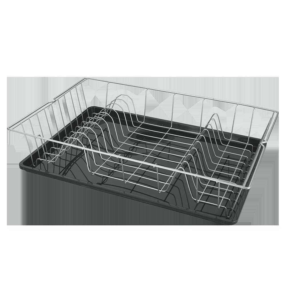 COLONIA Στεγνωτήριο Πιάτων Mε Λευκή Βάση – METALTEX – 320645