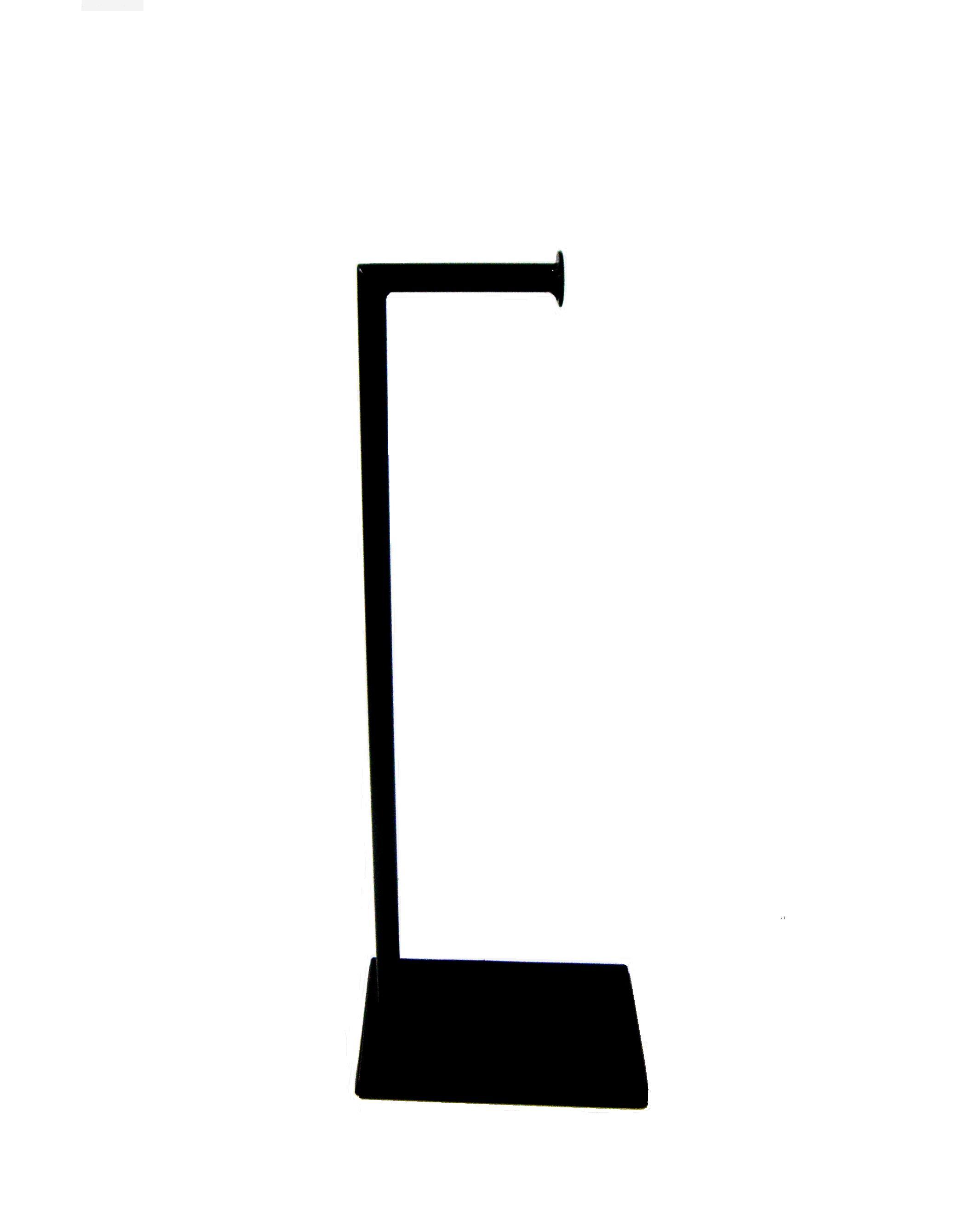 Βάση για Χαρτί Τουαλέτας Σιδερένια - OEM - 3-vasi_black μπανιο αξεσουάρ μπάνιου