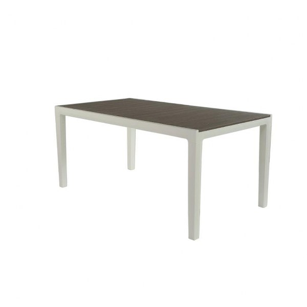 Τραπέζι Εξωτερικού Χώρου Harmony-Τ White/Light Grey – keter – harmony-t-table-white/light-grey