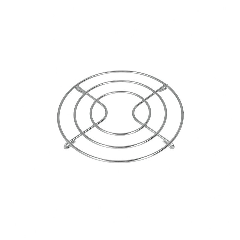 Σχάρα Συρμάτινη Στρογγυλή Χρωμίου 20 εκ. – METALTEX – 203220-1