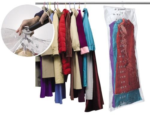 Θήκη Φύλαξης Φορέματος με Αναρρόφηση Αέρα - ORDINETT - 04580