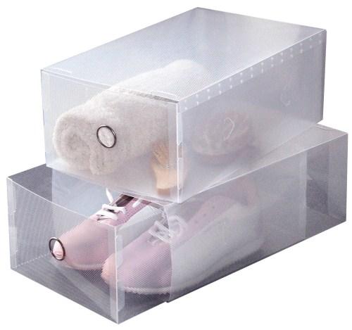 Κουτιά Φύλαξης με Συρτάρι Σετ 2τμχ – ORDINETT – 21270