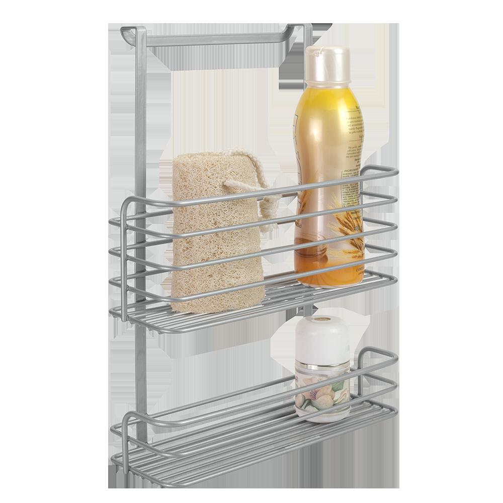 Ράφι Μπάνιου Δυόροφο - METALTEX - 402308 μπανιο αξεσουάρ μπάνιου