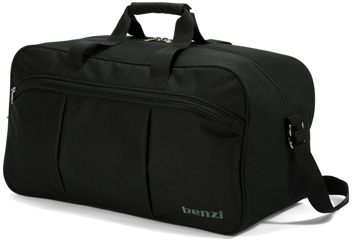 Σακ Βουαγιάζ benzi 3374 Black 54x28x29εκ. - benzi - bz-3374-black καλοκαιρινα  βαλίτσες   τσάντες ταξιδίου