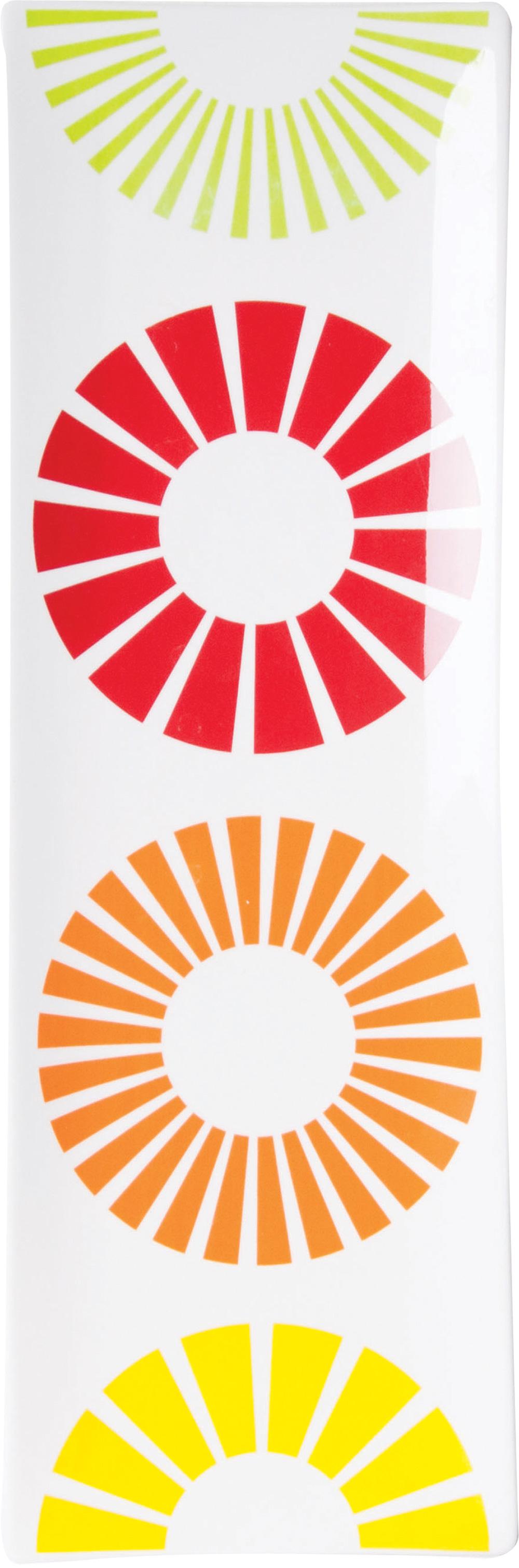 Πιατέλα Παραλληλόγραμμη Citrus S&P (Υλικό: Πορσελάνη) - Salt & Pepper - BAM39038