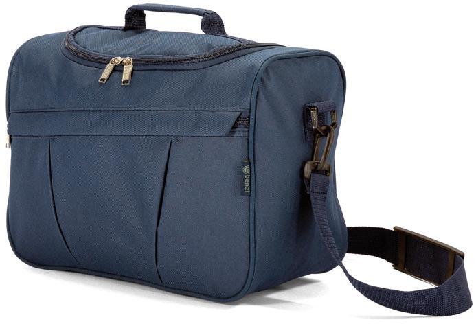 Νεσεσέρ 32χ25χ17εκ. benzi 4591 Blue - benzi - bz-4591-blue καλοκαιρινα  βαλίτσες   τσάντες ταξιδίου