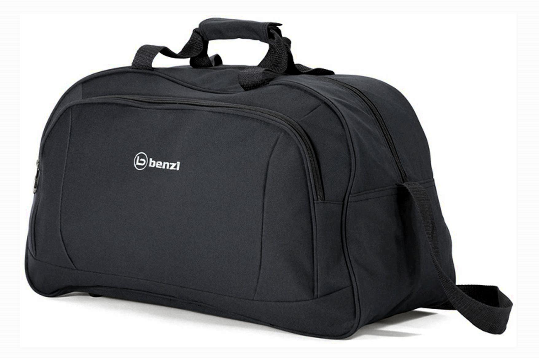 Σακ βουαγιάζ 49χ29χ23εκ. benzi 4636 Black - benzi - bz-4636-black καλοκαιρινα  βαλίτσες   τσάντες ταξιδίου