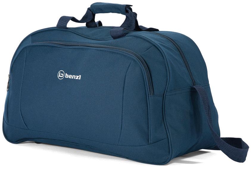 Σακ βουαγιάζ 49χ29χ23εκ. benzi 4636 Blue - benzi - bz-4636-blue καλοκαιρινα  βαλίτσες   τσάντες ταξιδίου