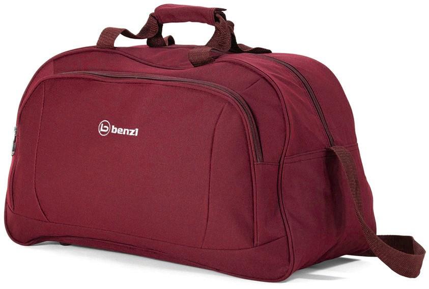 Σακ βουαγιάζ 49χ29χ23εκ. benzi 4636 Red - benzi - bz-4636-red καλοκαιρινα  βαλίτσες   τσάντες ταξιδίου