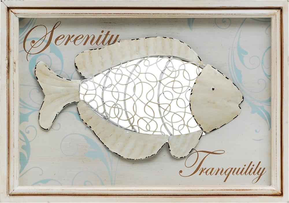 Καδράκι Ψάρι 34x24εκ. - OEM - 4-SGD9/070 διακοσμηση κουζίνα πίνακες   κάδρα