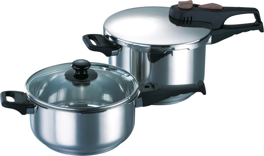 Σετ 4τμχ Χύτρα Ταχύτητος Quatro - HUMAN - a-s22 κουζινα κατσαρόλες   χύτρες