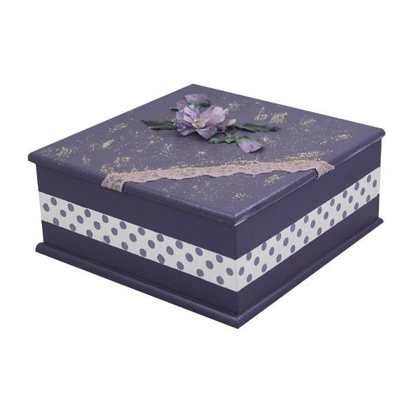 Διακοσμητικό Κουτί Χειροποίητο – OEM – kouti-mov