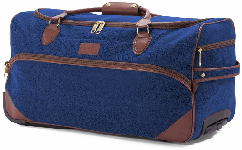 Σακ Βουαγιάζ Τρόλευ με 2 Ρόδες benzi 5048 Blue - benzi - BZ-5048-blue καλοκαιρινα  βαλίτσες   τσάντες ταξιδίου