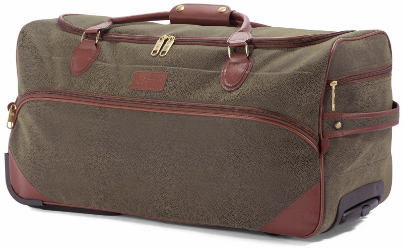 Σακ Βουαγιάζ Τρόλευ με 2 Ρόδες benzi 5048 Olive - benzi - BZ-5048-olive καλοκαιρινα  βαλίτσες   τσάντες ταξιδίου