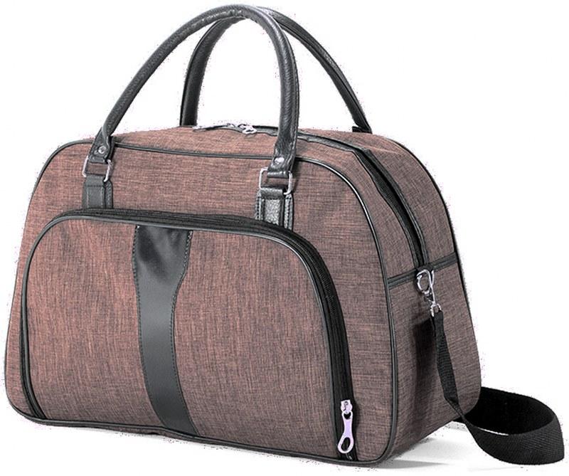 Σακ βουαγιάζ 45x28x17εκ. benzi 5203 Brown - benzi - BZ-5203-brown καλοκαιρινα  βαλίτσες   τσάντες ταξιδίου