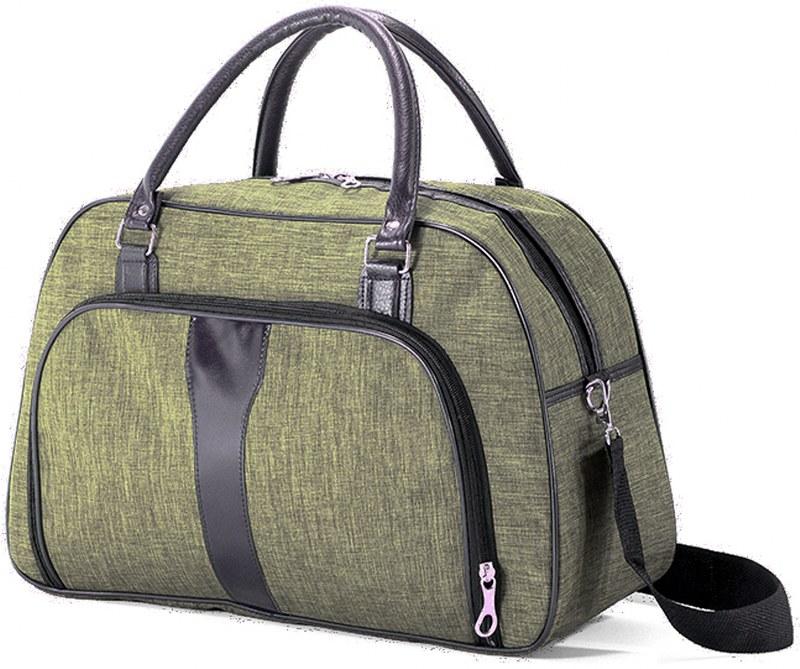 Σακ βουαγιάζ 45x28x17εκ. benzi 5203 Olive - benzi - BZ-5203-olive καλοκαιρινα  βαλίτσες   τσάντες ταξιδίου