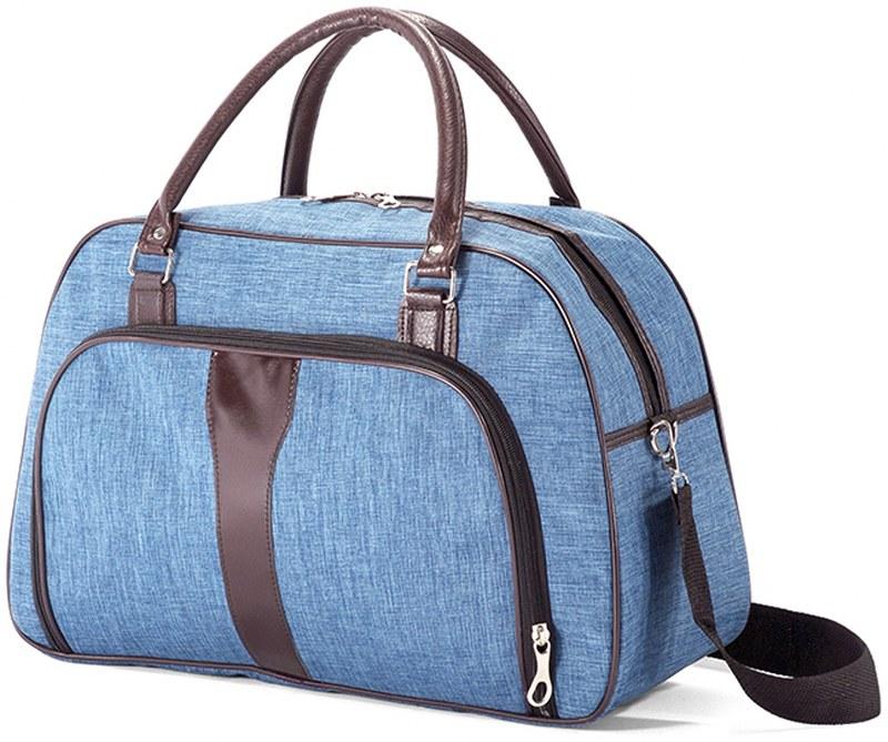 Σακ βουαγιάζ 45x28x17εκ. benzi 5203 Blue - benzi - BZ-5203-blue καλοκαιρινα  βαλίτσες   τσάντες ταξιδίου