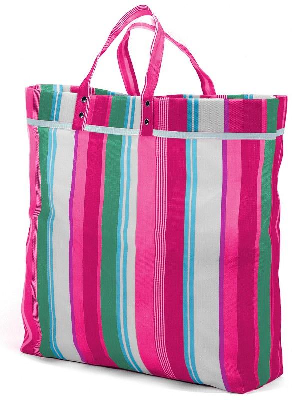 Τσάντα Αγορών 43x40x10εκ. benzi 2009037 Pink - benzi - RY-2009037-pink καλοκαιρινα  βαλίτσες   τσάντες ταξιδίου