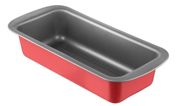 Φόρμα Κέικ Αντικολλητική Χά 30x13x6,5εκ. Colors PAL 050.000384-Red (Υλικό: Χάλυβας ) - PAL - 050.000384-red