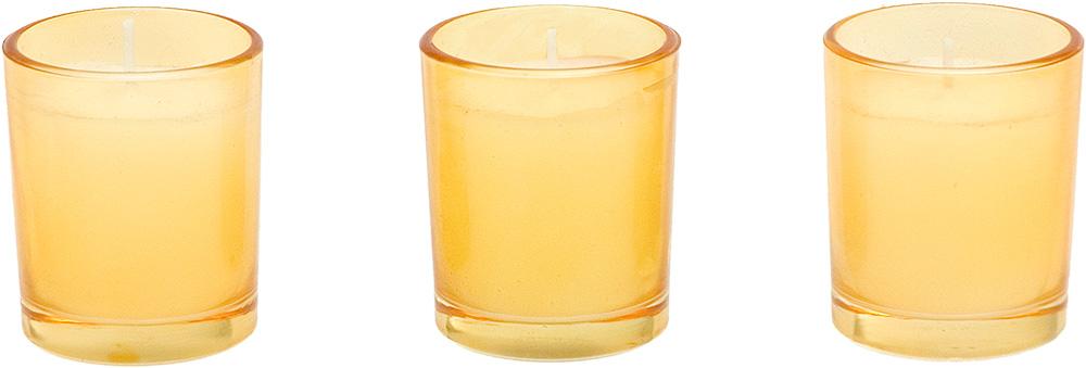 Ποτήρι και Κερί Κίτρινο – OEM – 4-SK 55300Y
