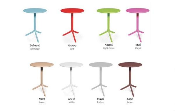 Τραπέζι πολυπροπυλενίου Step μωβ – OEM – 13-step_mov