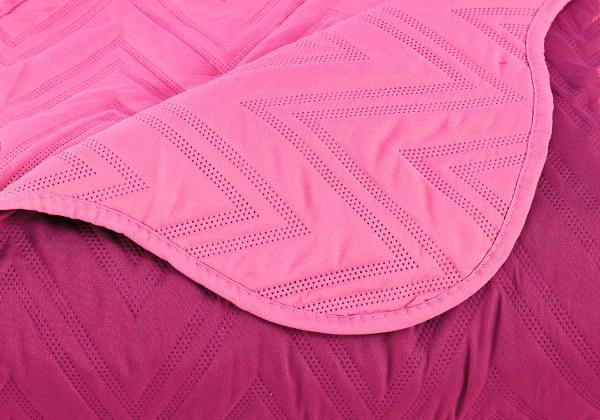 Σετ Κουβερλί Ημίδιπλο Palamaiki Twist Pink/Fuchsia – Palamaiki – twist-k1-pink-fuchsia