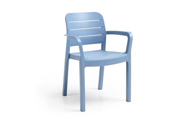 Πολυθρόνα Εξωτερικού Χώρου Tisara Summer Blue – Allibert – tisara-armchair-summer-blue
