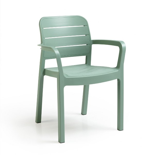 Πολυθρόνα Εξωτερικού Χώρου Tisara Spring Green – Allibert – tisara-armchair-spring-green