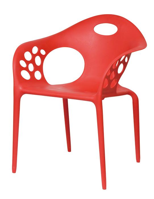 Καρέκλα UNICA κόκκινη – OEM – 1-UNICA_kokkino