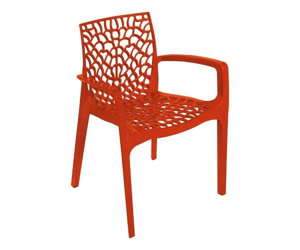 Πολυθρόνα Πολυπροπυλενίου Gruvyer Orange - OEM - 13-gruvyer-π-orange κηποσ   βεραντα καρέκλες κήπου