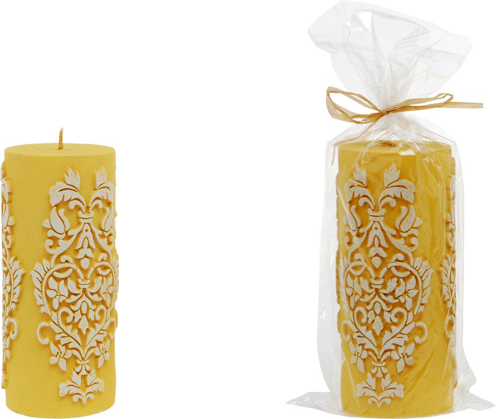 Κερί Κίτρινο Σκαλιστό – OEM – 4-ZG 04/1002_kitrino